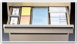 document organization for drawers New York New Jersey