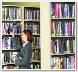 Library shelving sets New York New Jersey