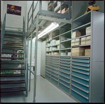 mezzanine with modular drawers New Jersey New York
