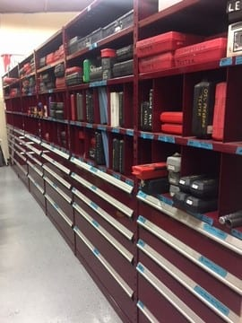 modular drawers in shelving New Jersey New York