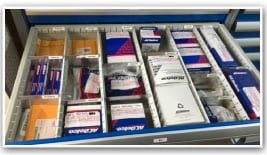 modular drawer dividers for small parts