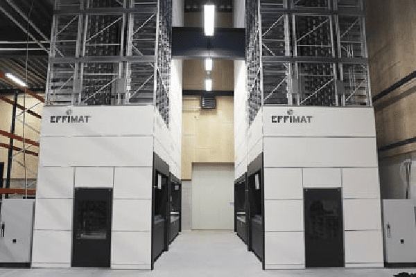 effimat dual vertical storage systems